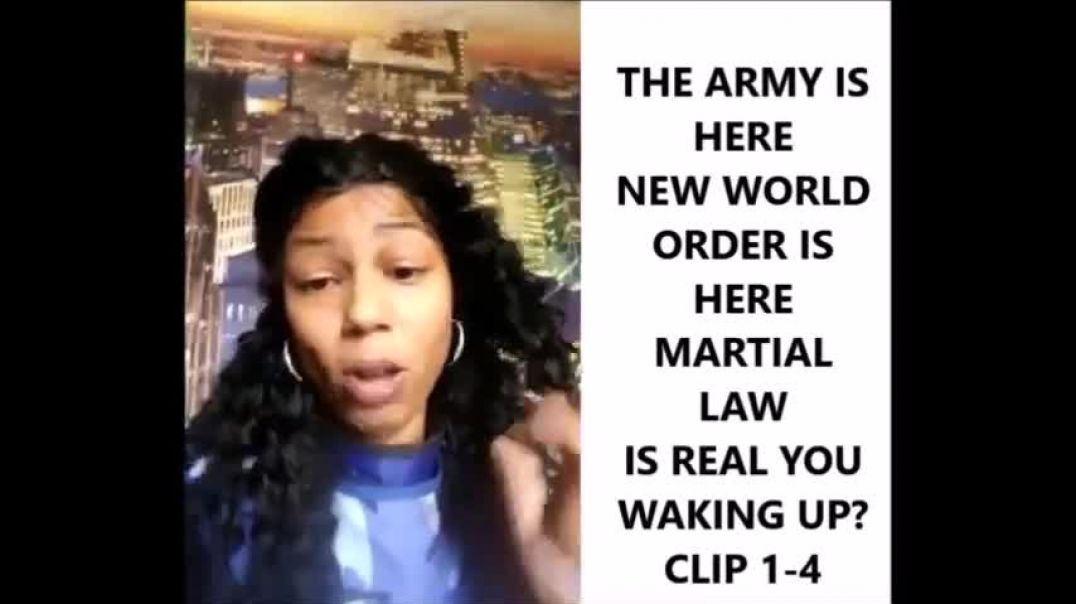 Over a year Later Whats Up Sleeper You waking Up - REPOST AL Martial Law