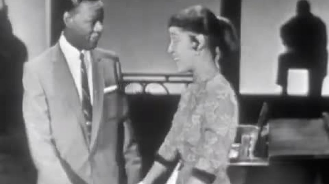 Nat King Cole With His Wife Maria Cole