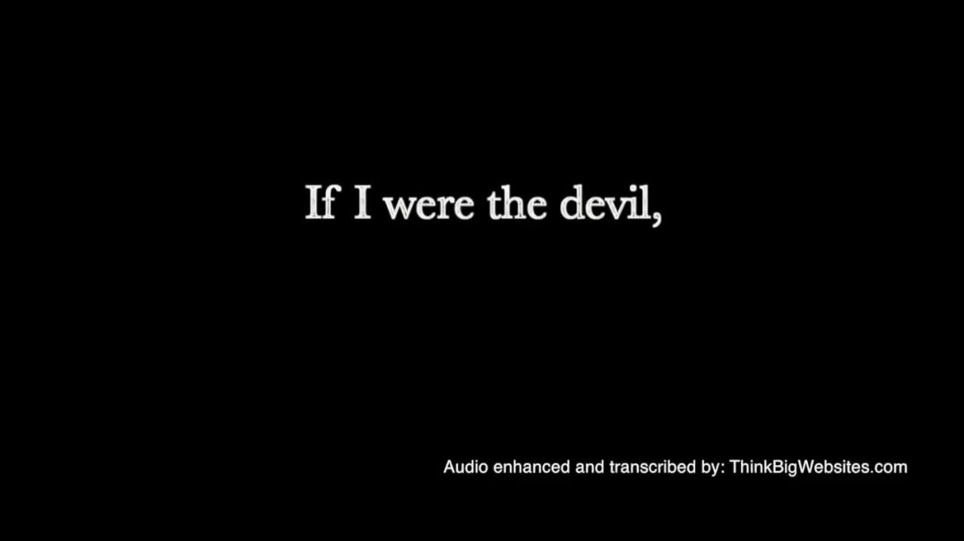 If I were the devil   remastered audio   Paul Harvey