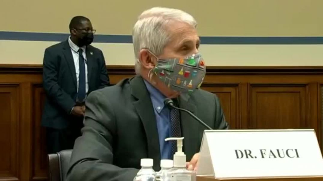 Dr Fauci on the Ropes - Can't answer the question