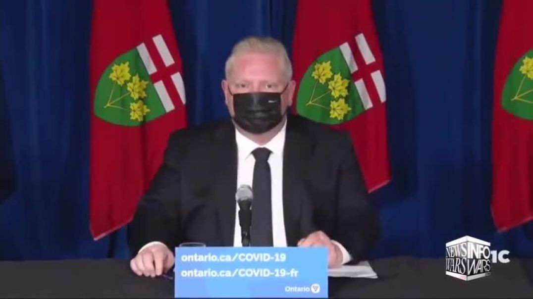 VIDEO: Ontario Placed Under Martial Law By Brother of Crackhead Mayor