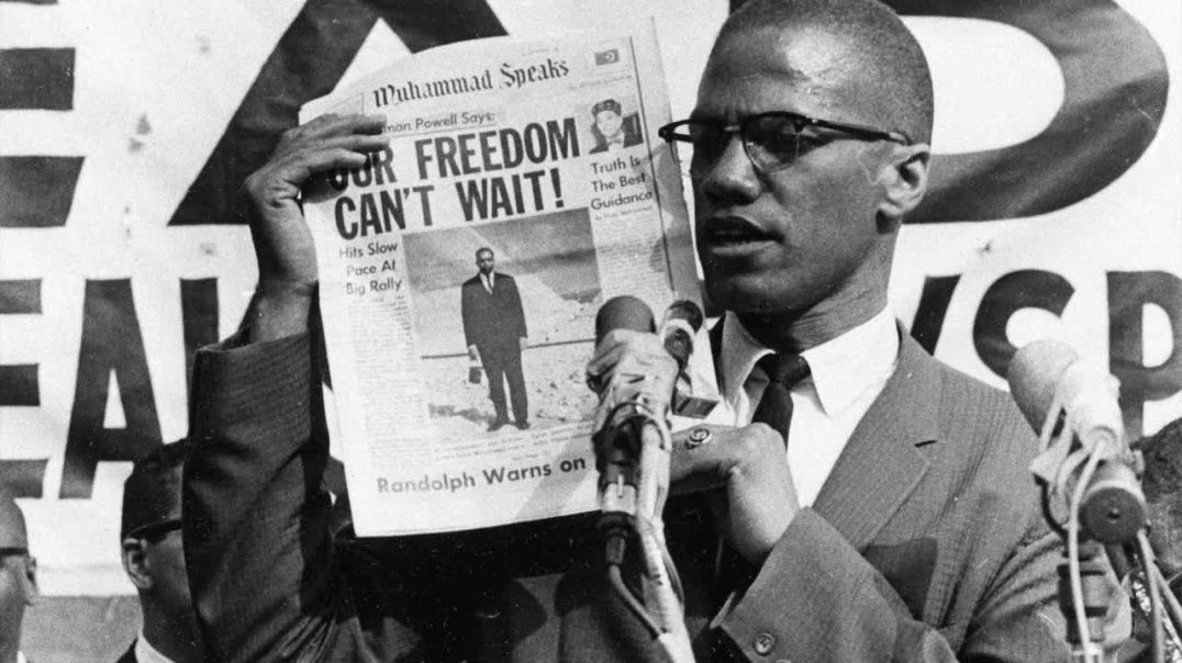 MALCOLM X - POWER OF THE MEDIA