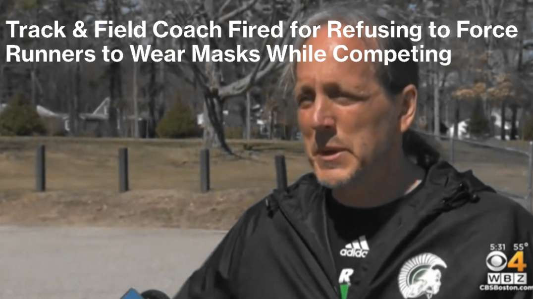 Coach Fired for Refusing to Force Runners to Wear Masks