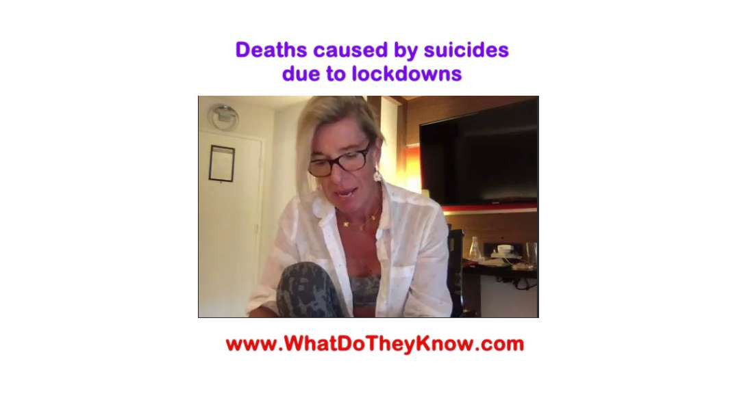 Suicide and Deaths Due to Lockdown