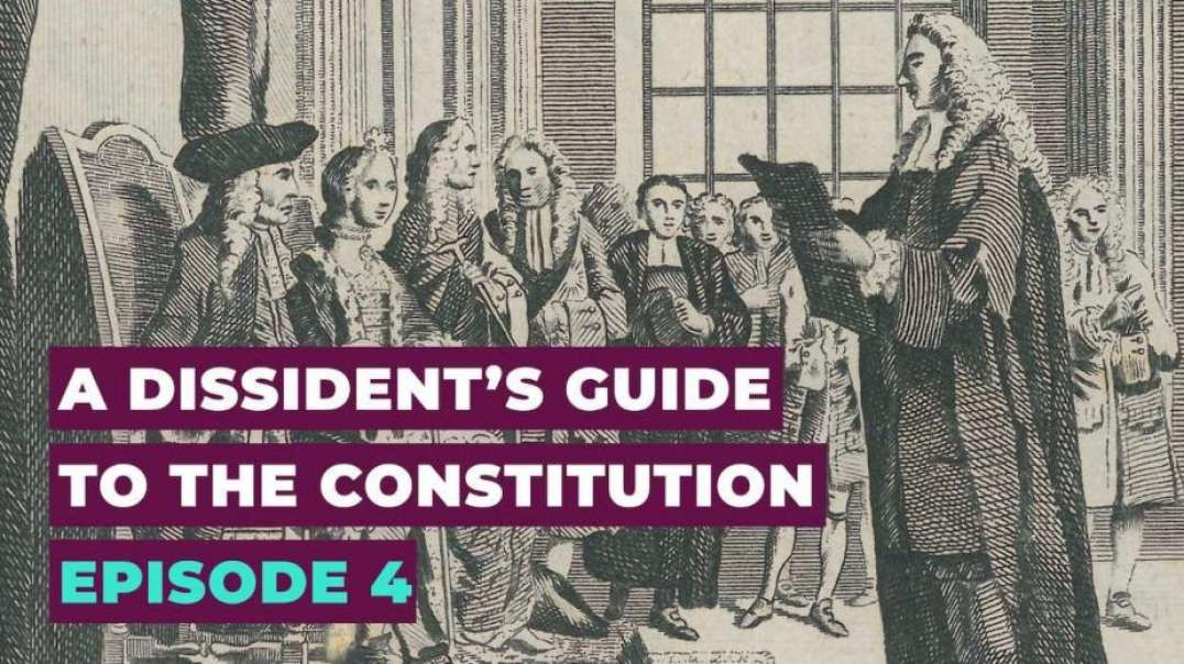 Alex Thomson A Dissident's Guide to the Constitution - Episode 4 - Democracy - The Books