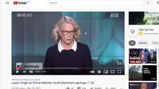 ABC News? Laura Tingle journalist where did she go to school & who's her daddy!