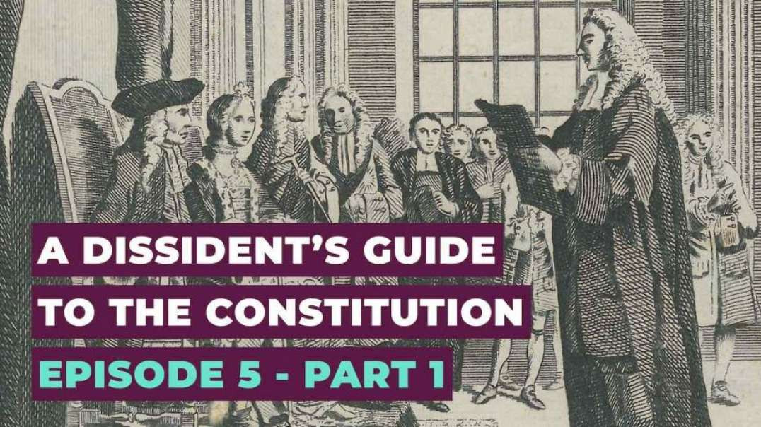 Alex Thomson A Dissident's Guide to the Constitution - Episode 5, Part I - Democracy - a Britis