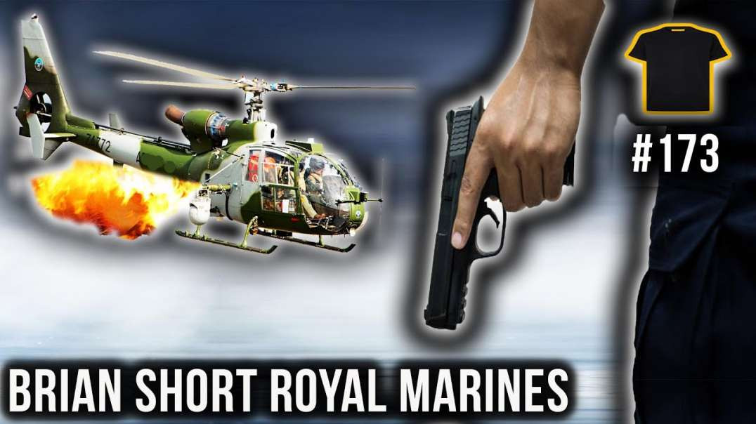 Executed In The Falklands Brian Short Royal Marines Bought The T-Shirt Podcast #173