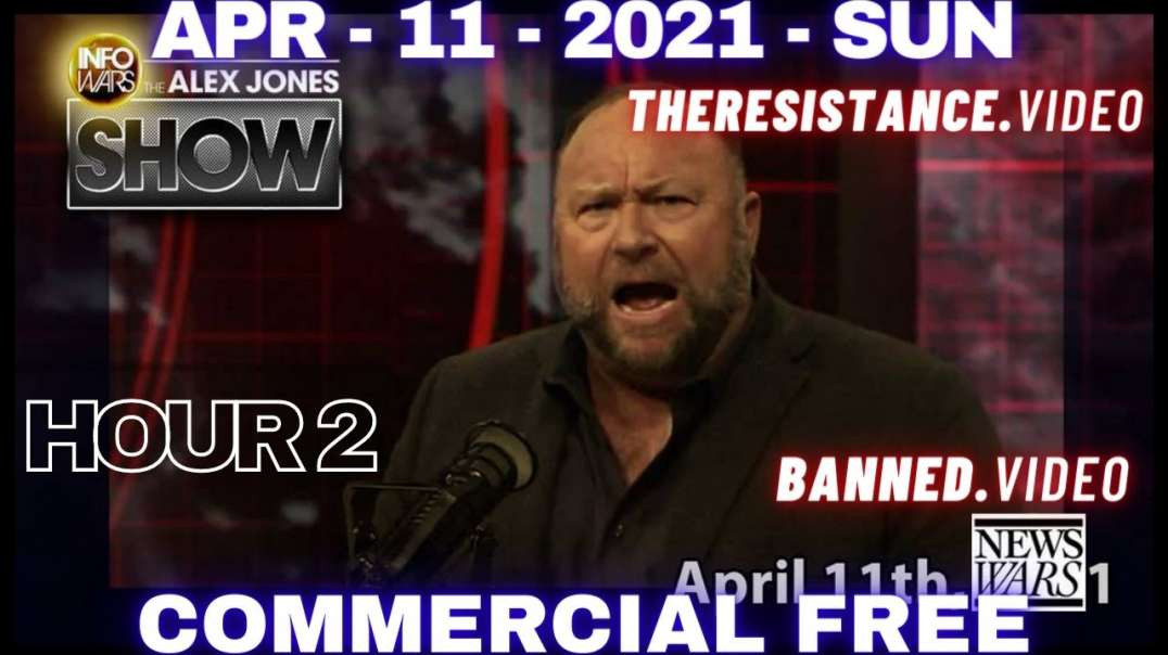 ⁣#AlexJonesShow HR2: Billionaires Gain $4 Trillion During Scamdemic From Lockdowns