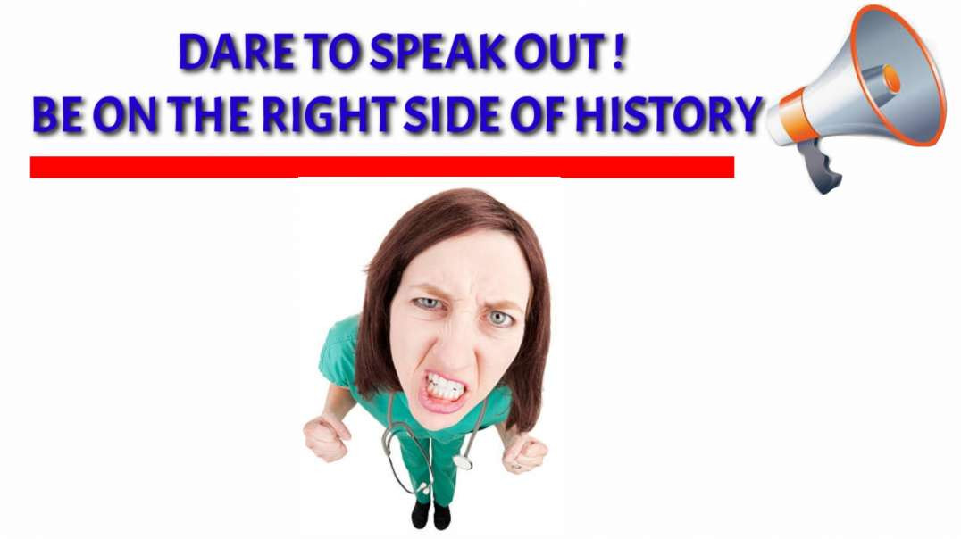 Dare to SPEAK OUT, be on the right SIDE of history