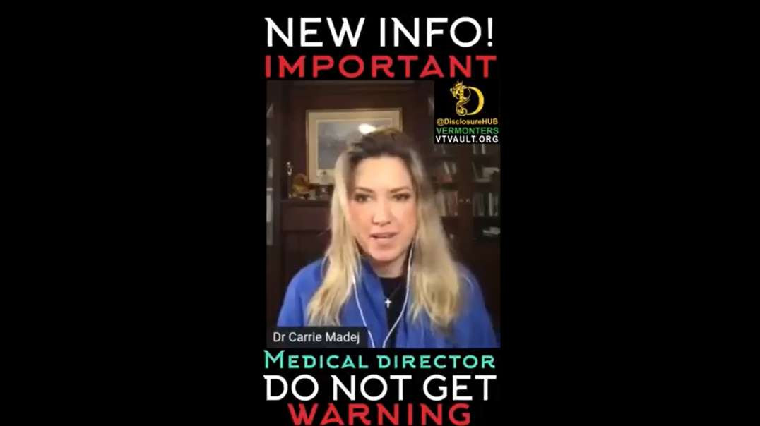 Dr Carrie Madej - Don't Take the JAB - You Will Be OWNED by BIL-LIE GATES of HELL!