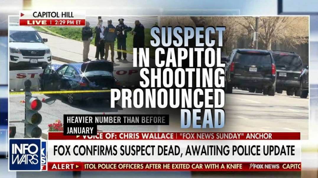 Suspect in DC Capitol Shooting Pronounced Dead