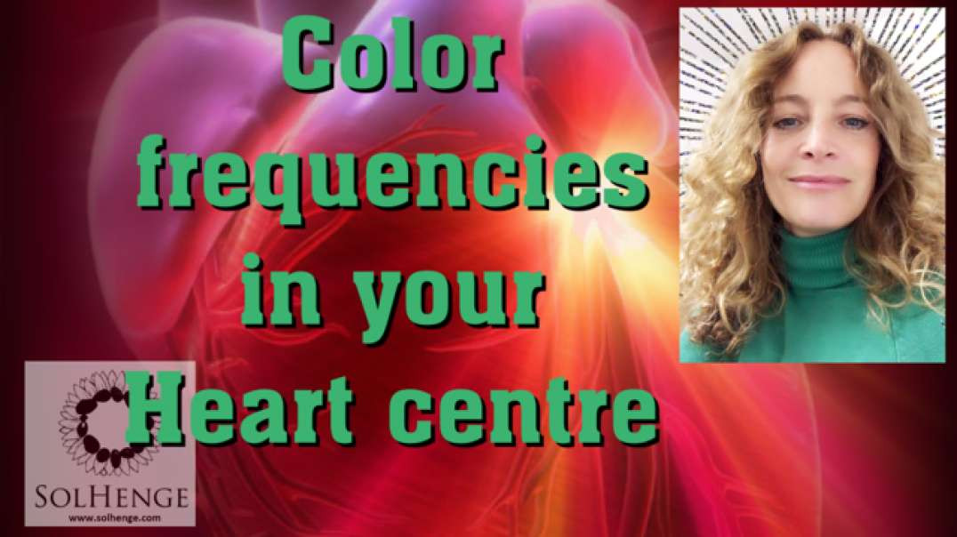 Guided meditation | colour frequencies into your  heart centre| Open biofield| incredible feeling!
