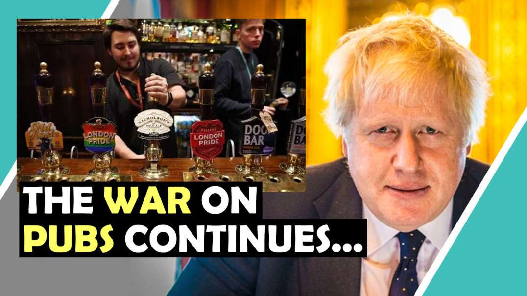 The WAR On PUBS Continues... / Hugo Talks Some More #lockdown