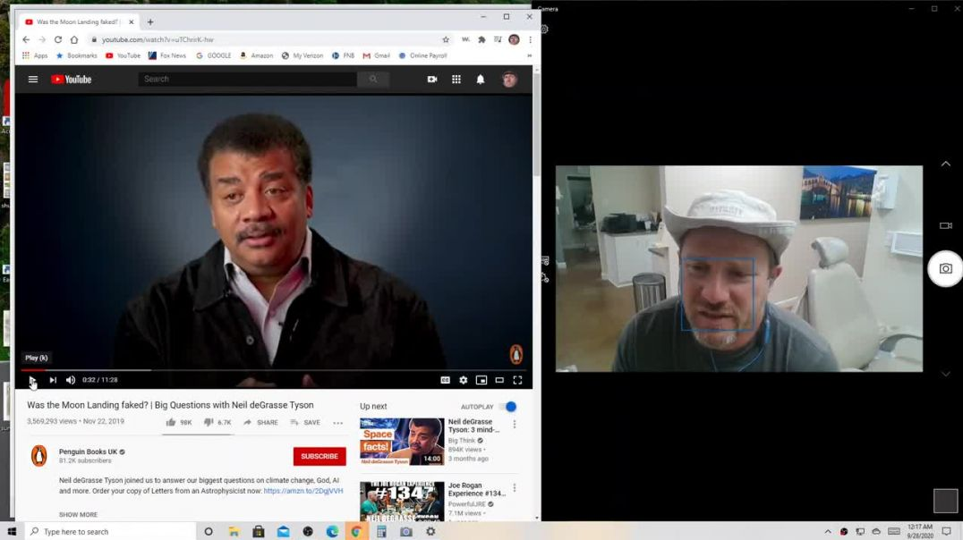 Neil deGrasse Tyson vs. Conspiracy Todd on Moon Hoax - VIDEO #13 - Proof the Moon Landing is Fake