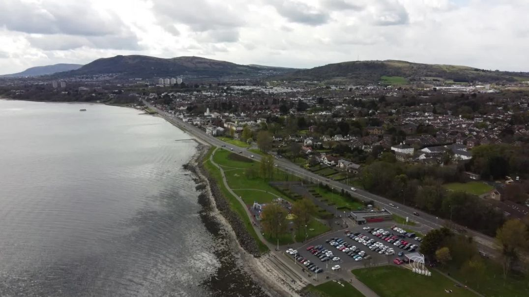 Drone Footage of Jordanstown, Northern Ireland