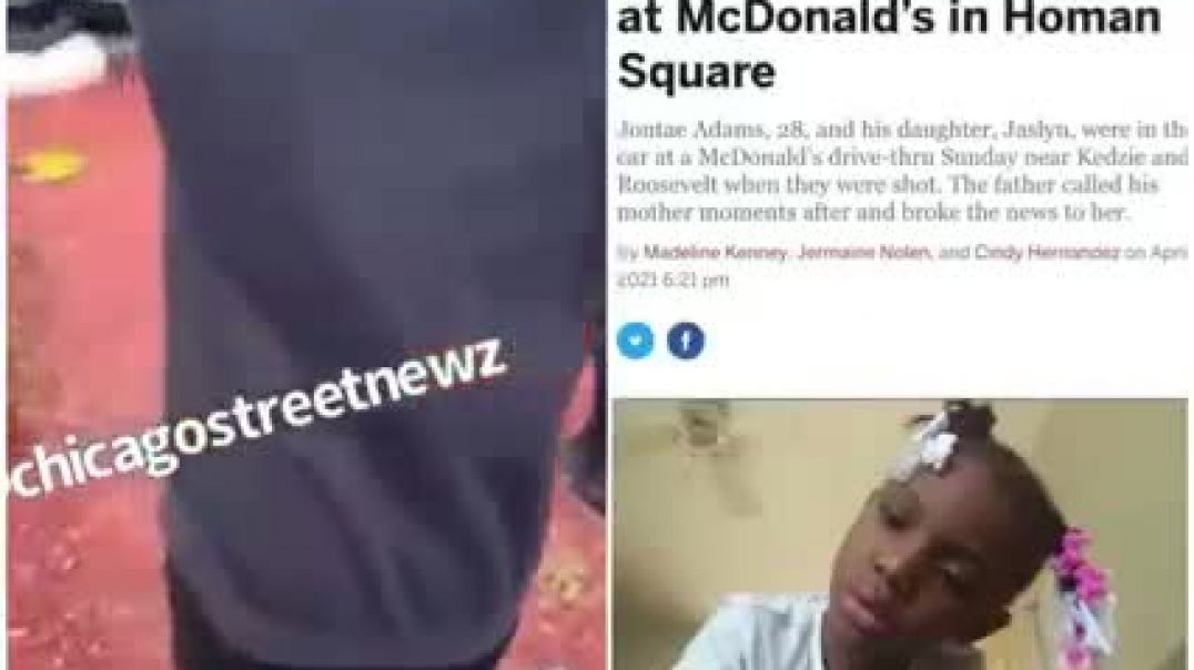 Seven year old girl SHOT 6 times at McDonalds - DEAD due to Senseless Gang Violence!