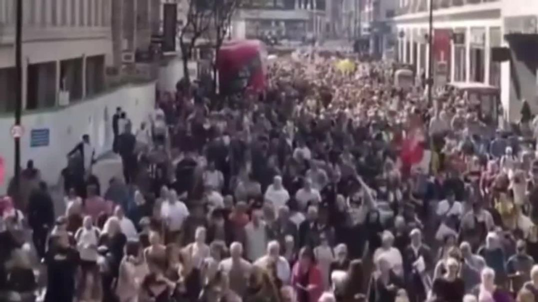 24/04/21 London Protest - There's A Revoultion Coming