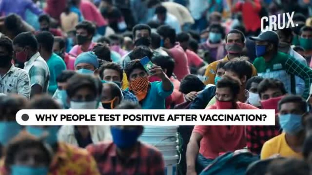 Why are Vaccinated People Testing Positive for Covid?