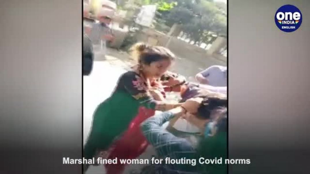 COVID marshalls getting beaten up in India