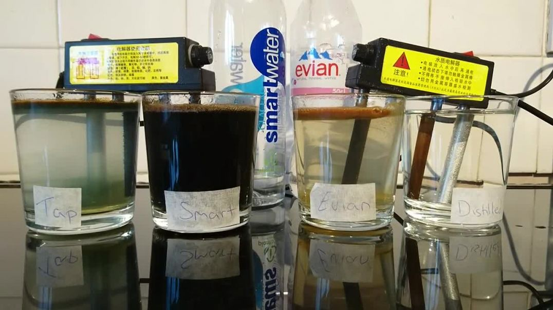 Water test reveals dangers of UK tap & bottled waters