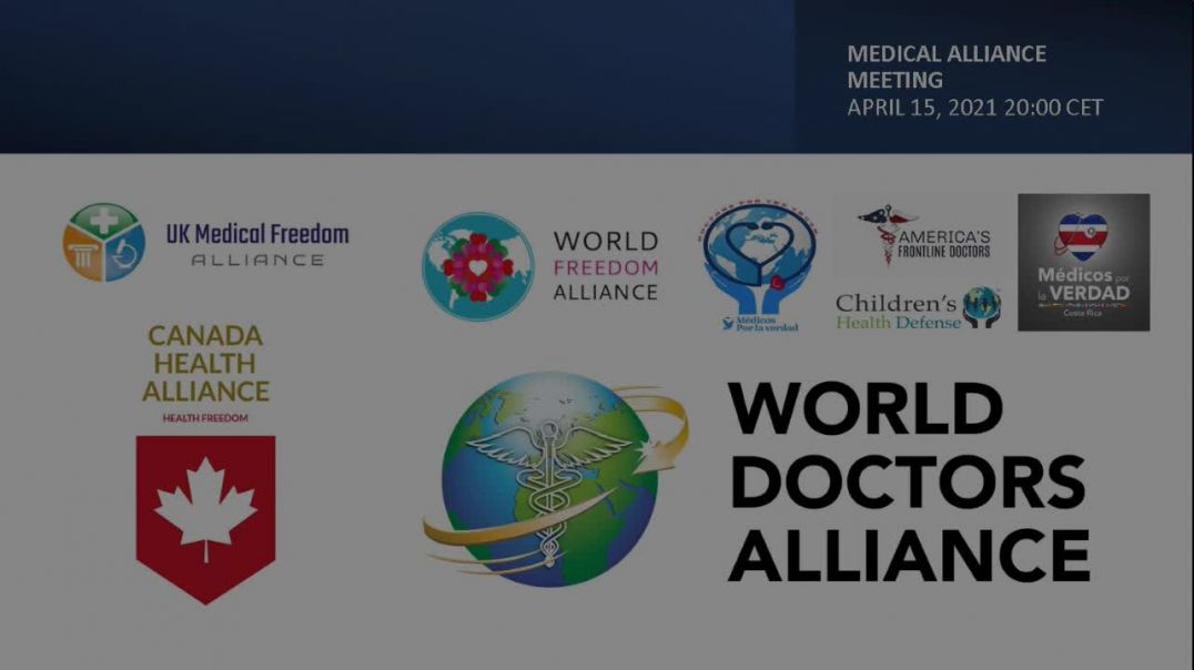 Medical Alliance from around the World Apr 15 2021