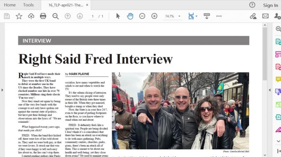 The Light Ep 20 April 21 Interview Right Said Fred