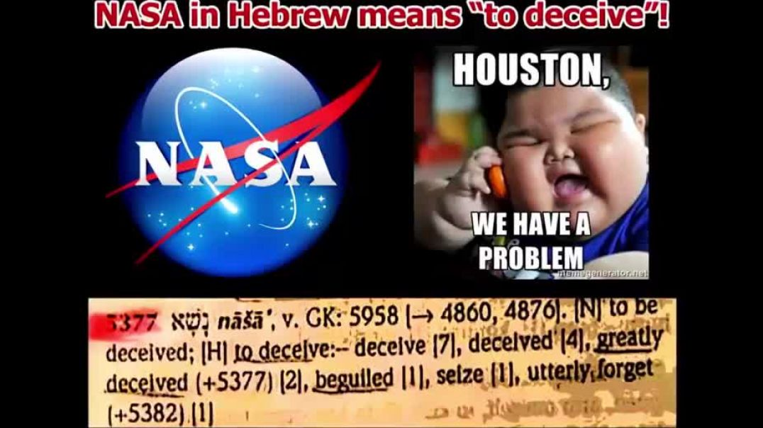 SHOCKING Meaning of NASA - What Does NASA Mean in Hebrew_