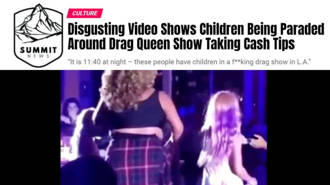 Viral Video Shows Children Being Paraded At Drag Queen Show