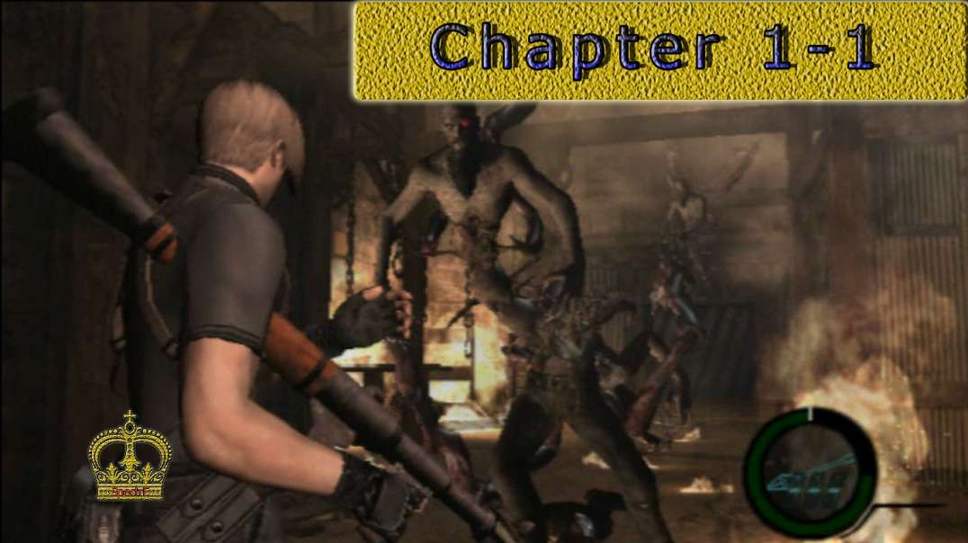 Resident Evil 4 chapter 1-1 [No commentary] PS2