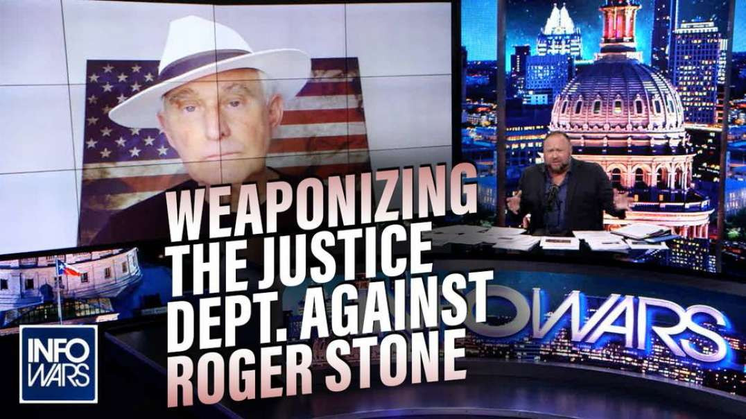 EXCLUSIVE: Roger Stone Responds to Justice Department's Newest Attack
