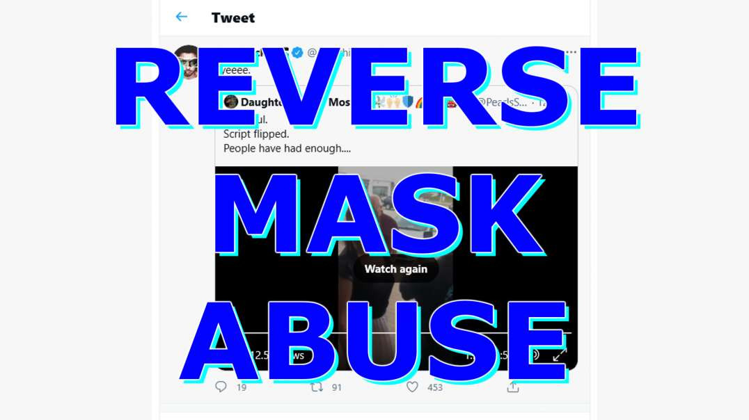 Reverse mask abuse: right or wrong?