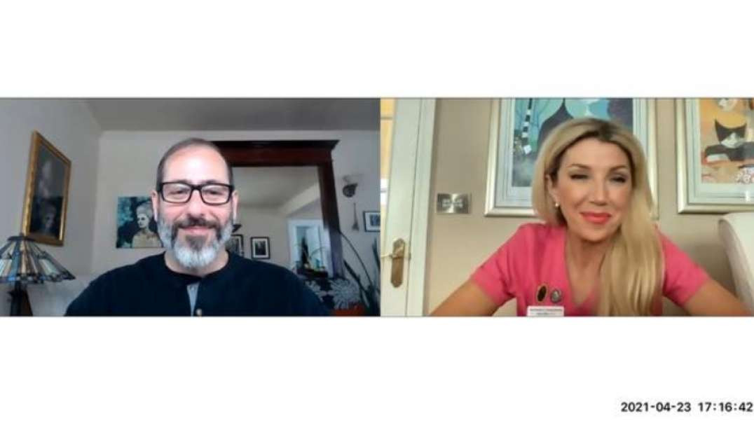 DR. ANDREW KAUFMAN INTERVIEW ~ KATE SHEMIRANI - NATURAL NURSE IN A TOXIC WORLD ~ 23/4/21