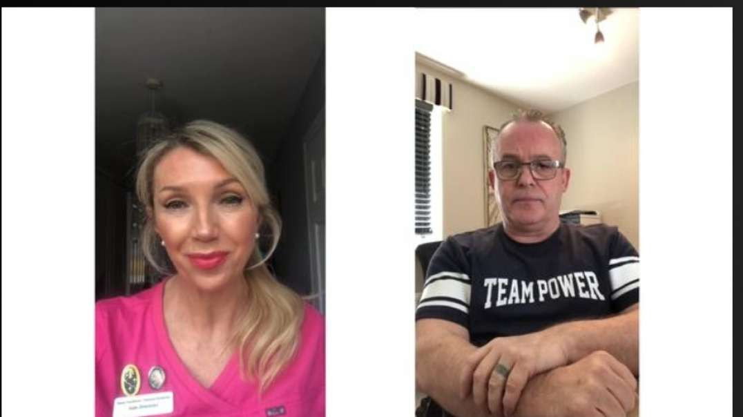 LONDON 24 4 2021 - ARE YOU ON THE RIGHT SIDE OF HISTORY ~ NURSE KATE SHEMIRANI & CAPTAIN MICK ST