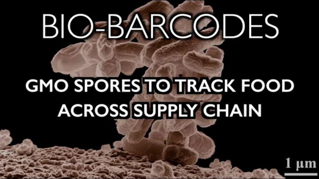 Bio-Barcodes - GMO Spores Hidden in Food to Track Supply Chain!