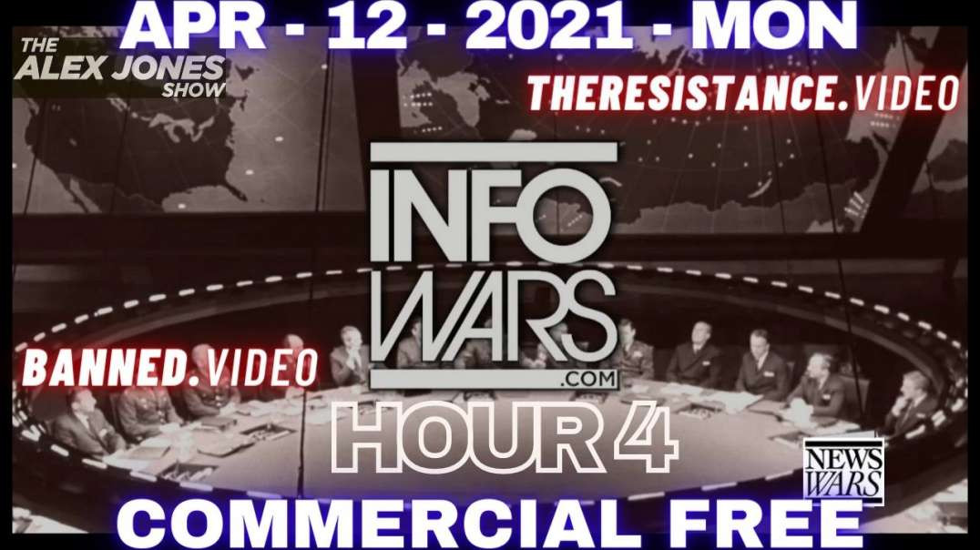 ⁣#AlexJones HR4: Biden Threatens Russia w/ Military Action & MIT Announces Plan to Chip US Milit