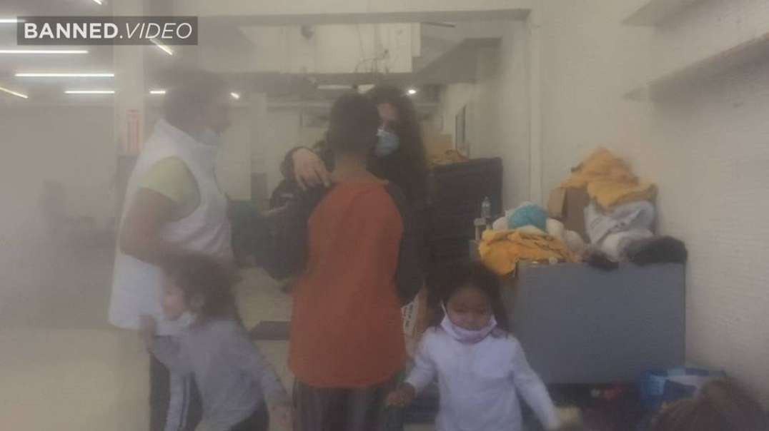 SHOCKING NEW FOOTAGE: Migrants Held In Squalor In Secret Private Facility