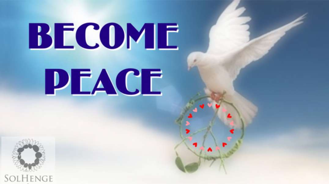 Guided meditation | Become peace | Transmute anxiety & stress quickly | feel  wonderful | emit p
