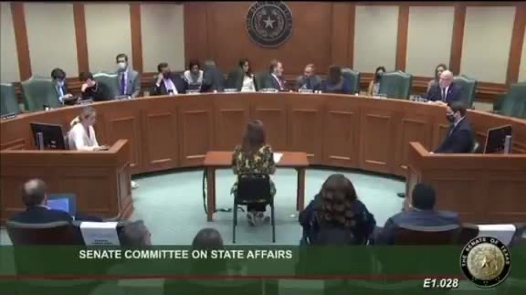 texas committee hearing on Mrna and animal testing