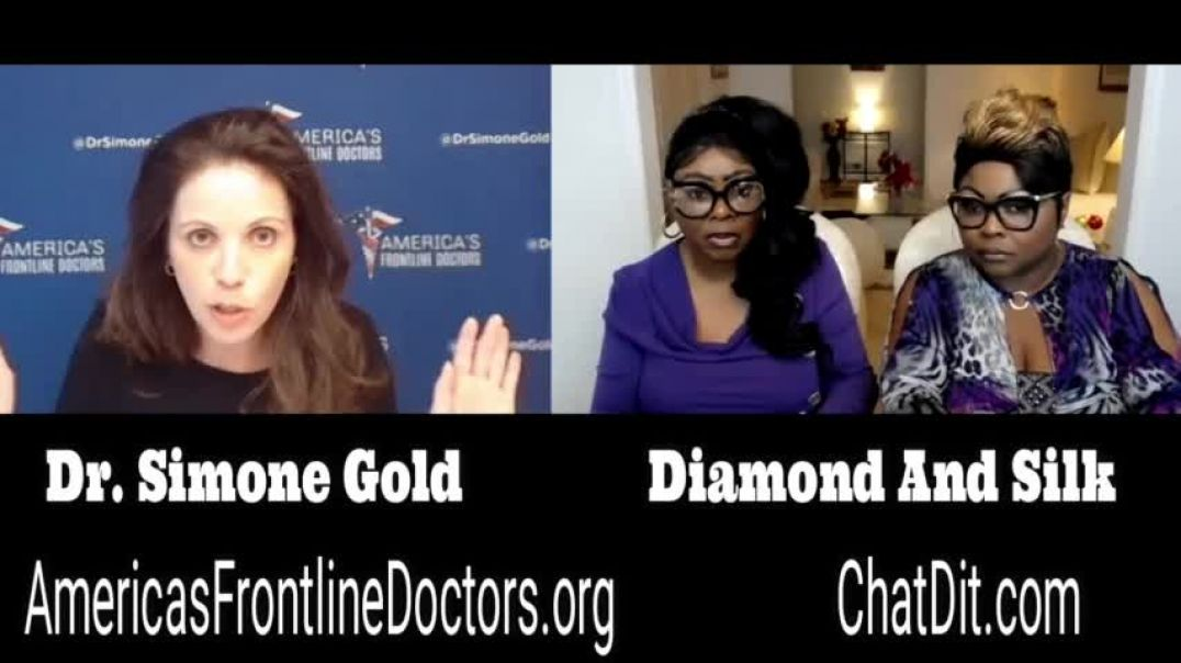 Diamond and Silk talk to Dr. Simone Gold