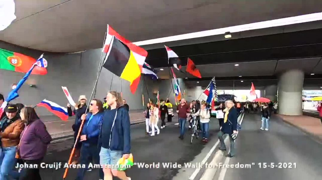 World Wide Walk for Freedom Netherlands 15-5-2021
