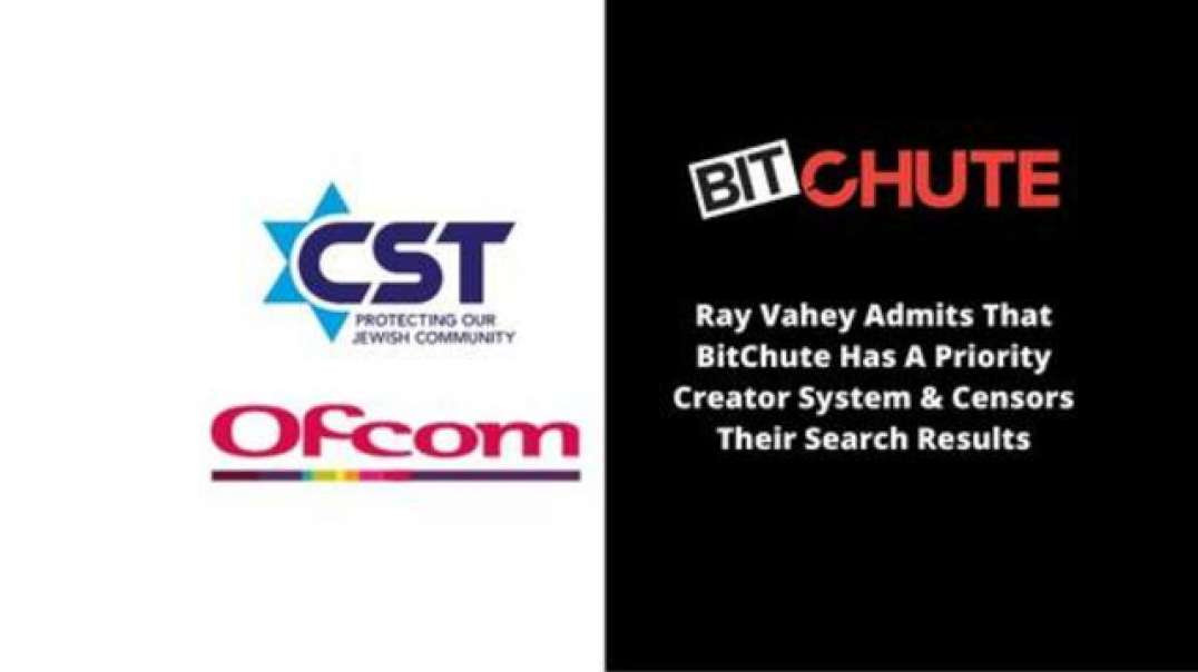 Ray Vahey Admits That BitChute Has A Priority Creator System  Censors Their Search Results