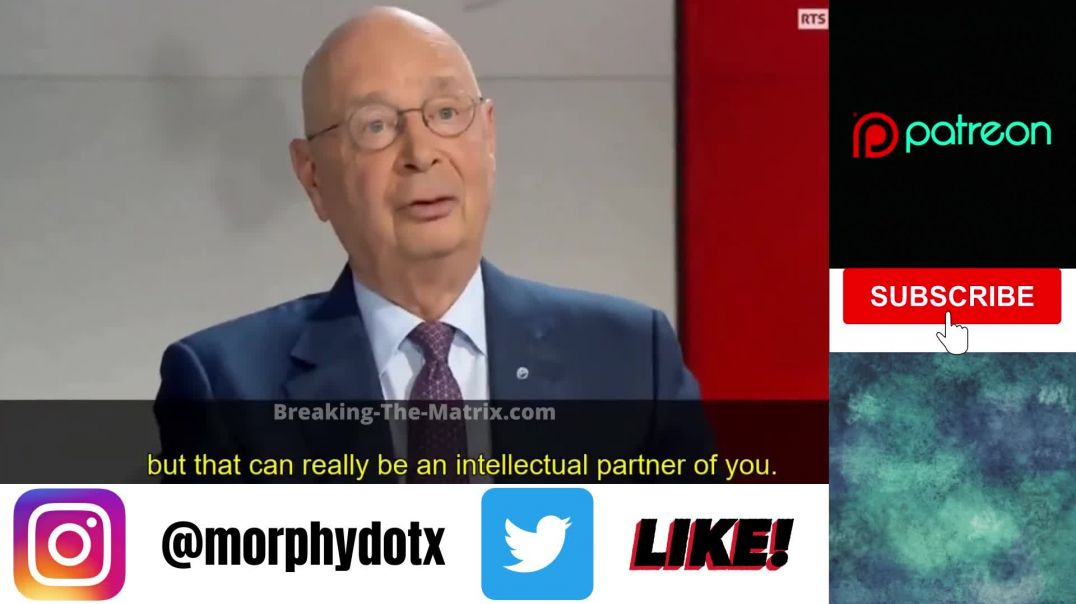Psychopath Klaus Schwab talking about Brain Implants