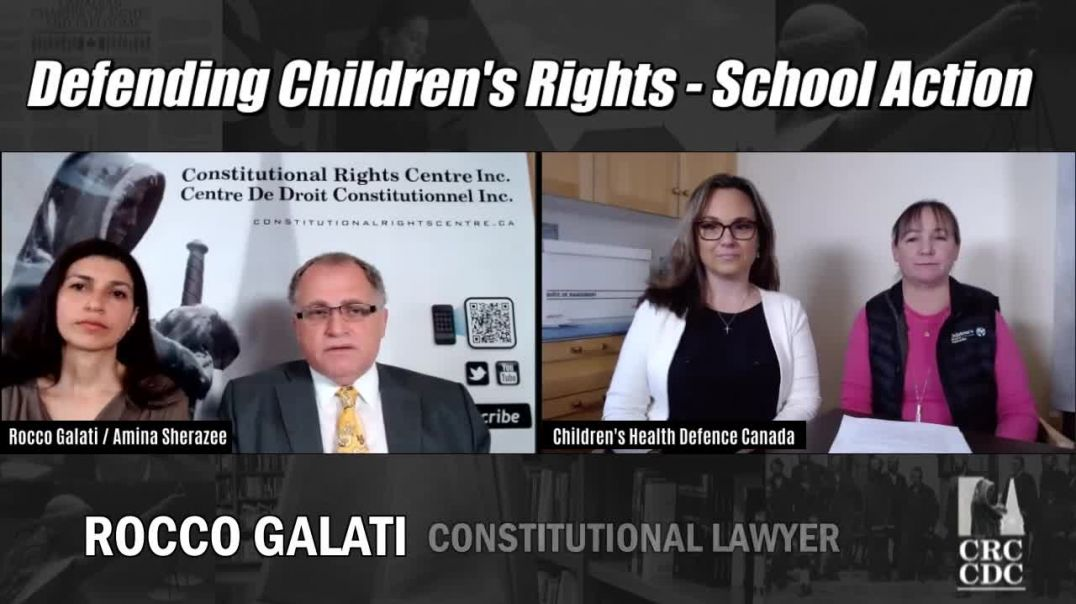 DEFENDING CHILDRENS RIGHTS - CHILDRENS HEALTH DEFENCE CANADA
