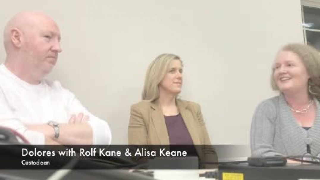 Prof Dolores Cahill on Inalienable Rights and Constitutional Law with Rolf Kane and Alisa Keane