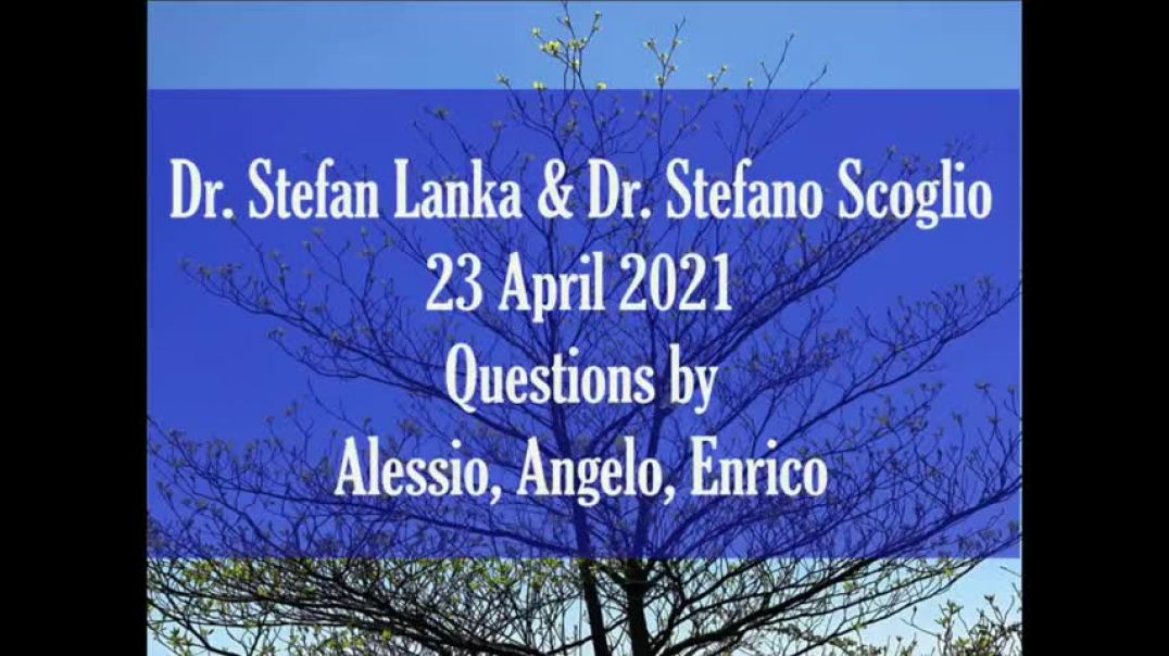 Dr. Stefan Lanka & Dr. Stefano Scoglio - The Anti-Science of Virologists (April 23rd, 2021)