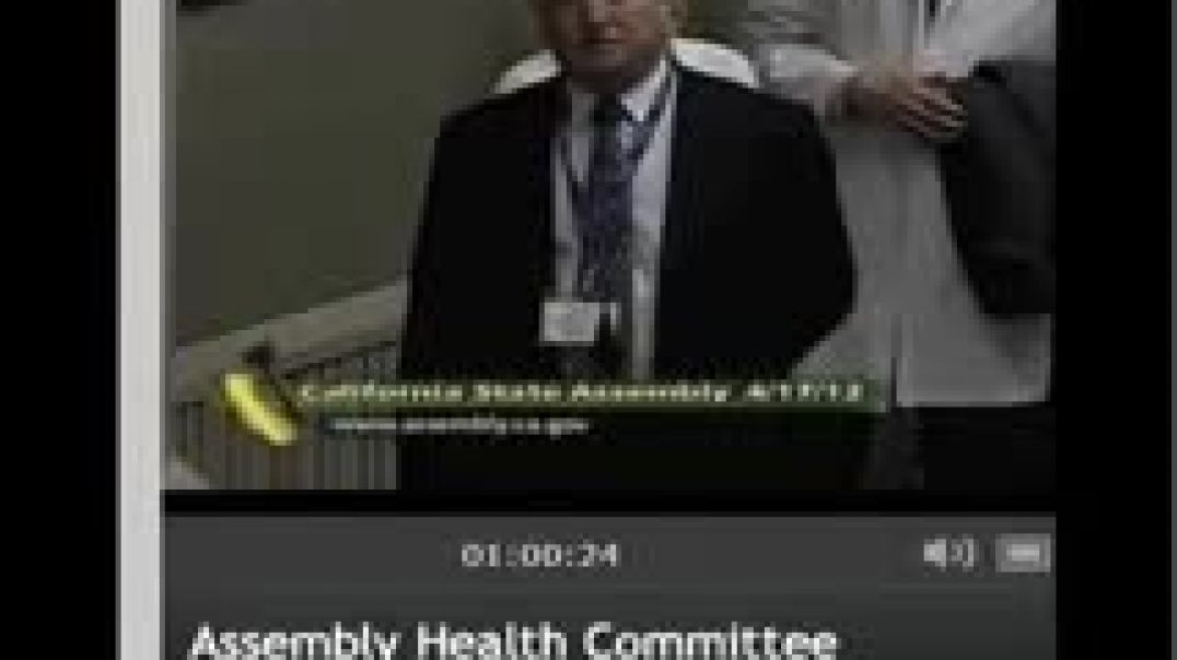 CA Health Committee Hearing on Vaccine Exemption Bill AB2109 April 27, 2012 Part 2