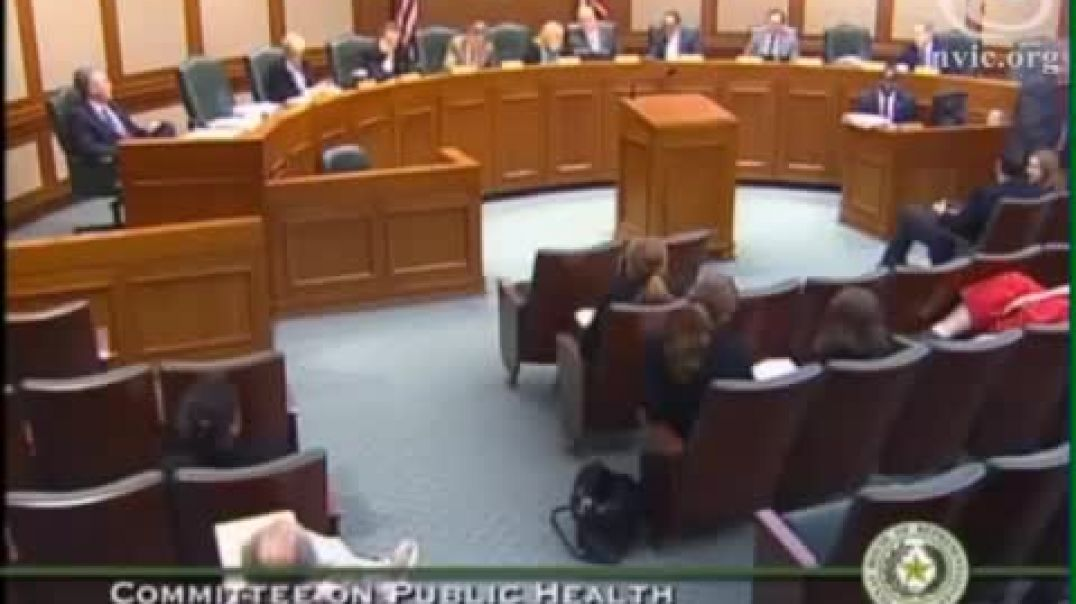 Texas House of Representatives Committee on Public Health March 24, 2015, Testimony with Q&A of