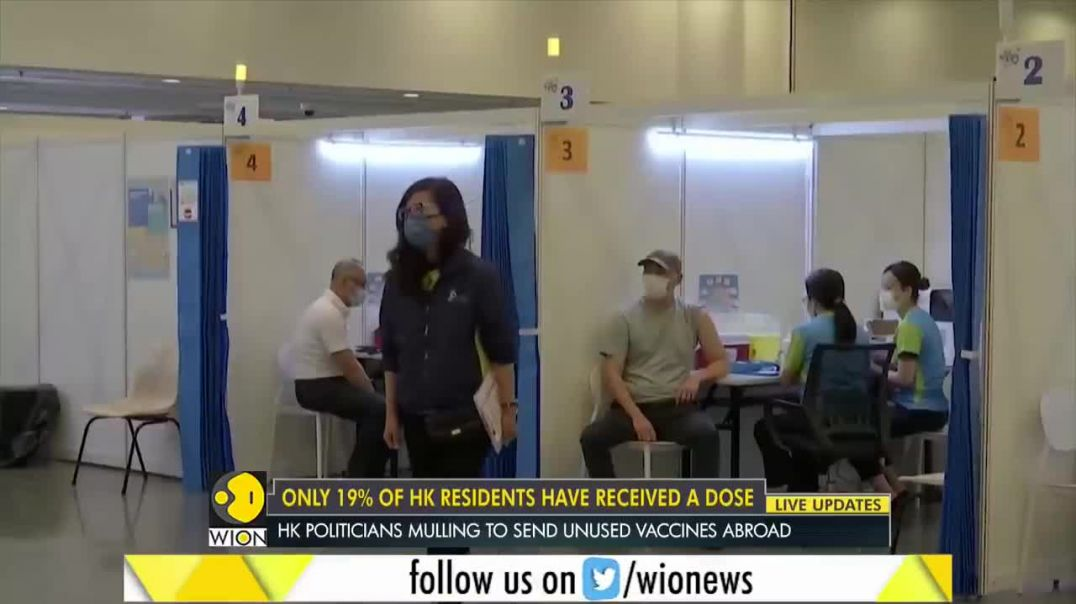 People of Hong Kong refuse to be injected with cocktail of crap
