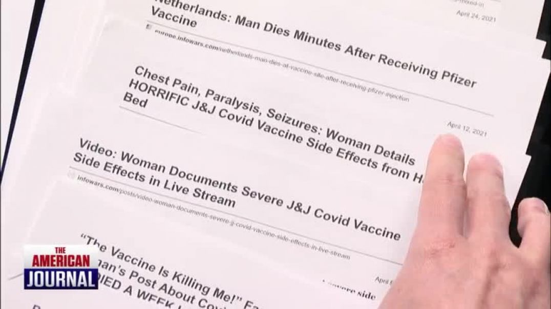 Ever Growing List of Vaccine Side Effects You Won't Find On MSM